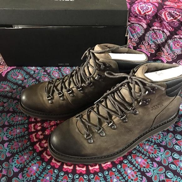 7f0cae6915c Sorel Madson Hiker Waterproof Boots NWT NWT